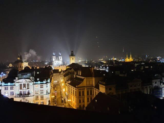 Vistas Praga  Torre astronomica Clementinum