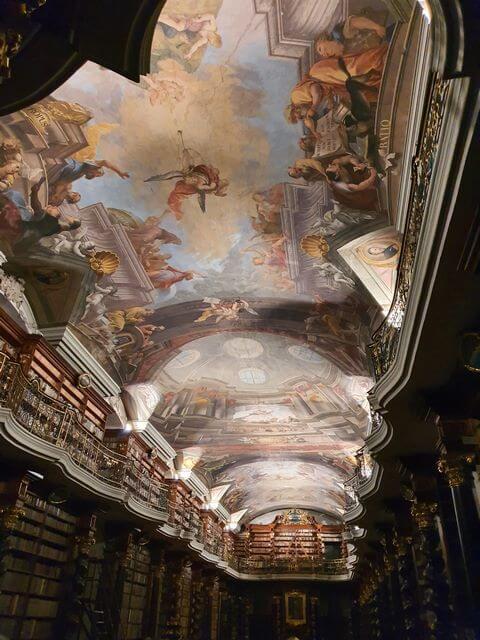Techos Biblioteca de Praga