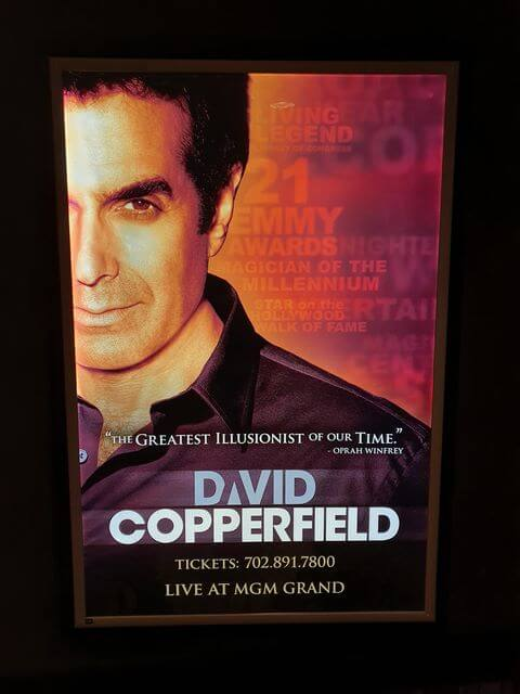 David Copperfield Las Vegas