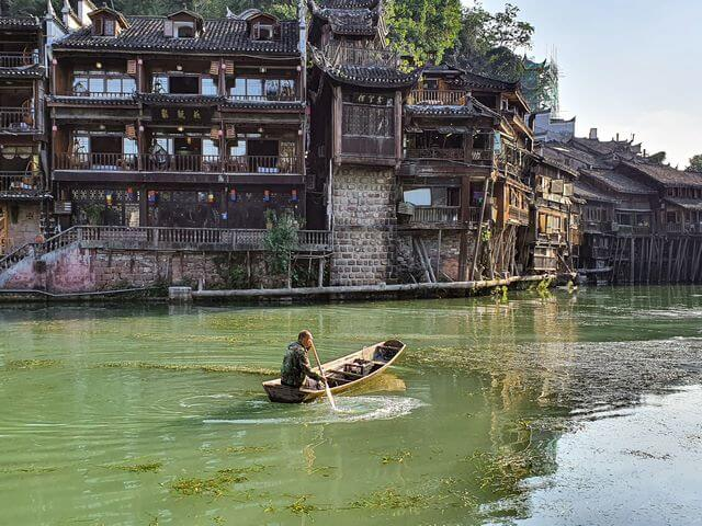 Río Tuojiang, Fenghuang