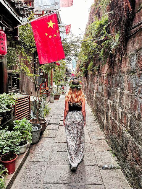 Paseando por Fenghuang