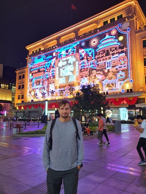 Avenida Wangfujing, cerca del hotel