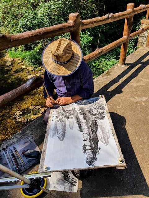 Dibujando las Montañas Avatar