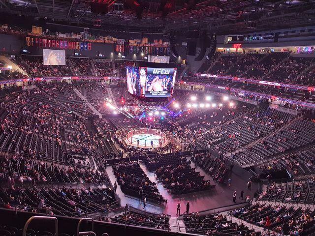 T Mobile Arena Las Vegas UFC248