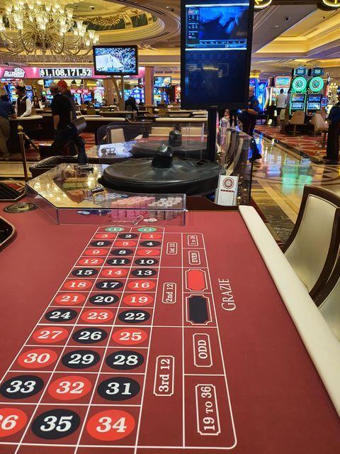 The Venetian Las Vegas casino ruleta