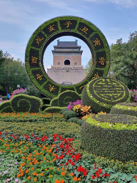 mejor zona alojarse en Pekin Parque Behai y Quianhai Lake cerca torre campana