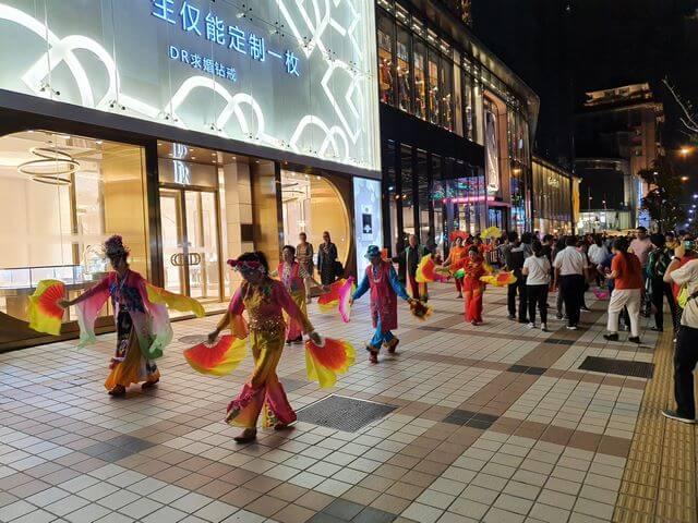 Mejor zona alojarse en Pekin Avenida Wangfujing