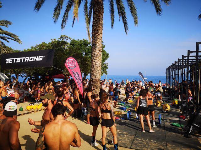 Playas de Mataró competicion