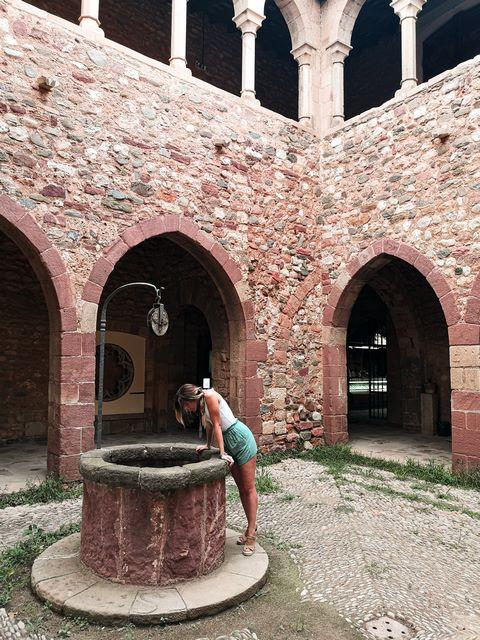 Interior Castell Cartoixa Vallparadis Terrassa