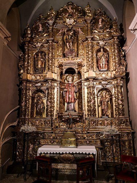 Capilla de San Valentin Interior Sant Pere