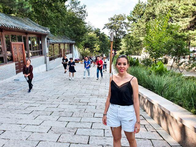 Entrada Mutianyu Muralla China Pekin