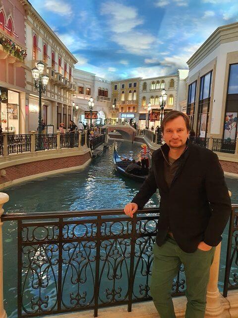 Gran Canal en el Venetian Hotel Las Vegas