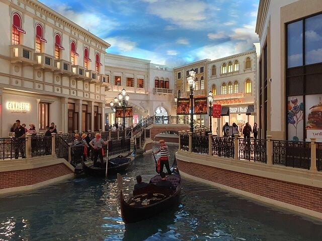 Canales Venetian Hotel Las Vegas