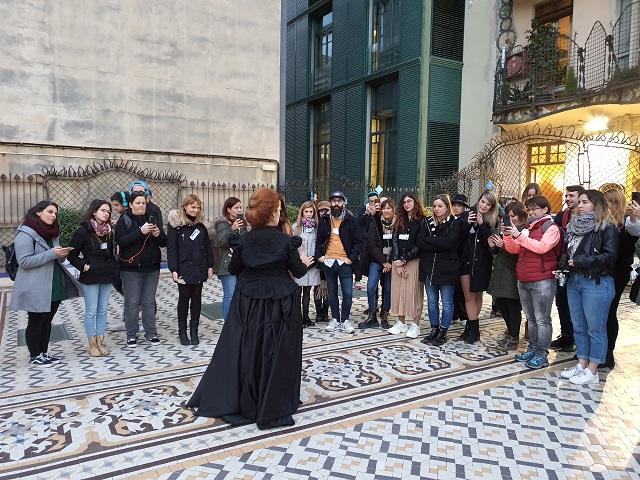 Visita teatralizada Casa Batlló