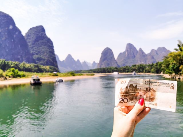 Crucero por el rio Li