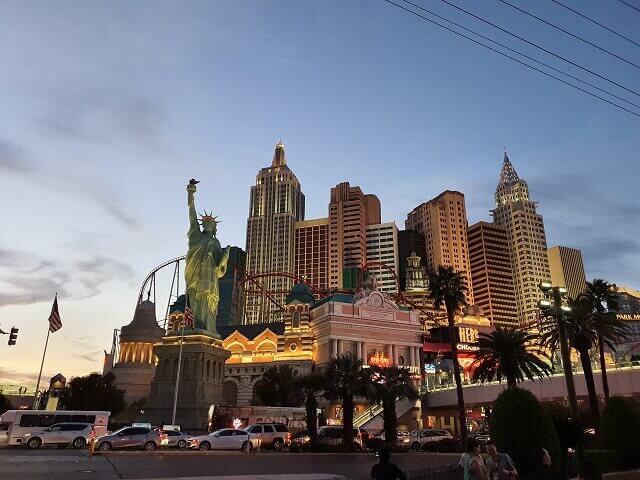 Hoteles famosos en Las Vegas: New York New York