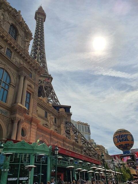 Hotel famosos en Las Vegas: Paris Las Vegas