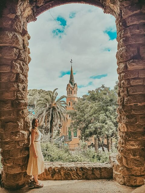 Park Guell Barcelona Casa Museu Gaudi