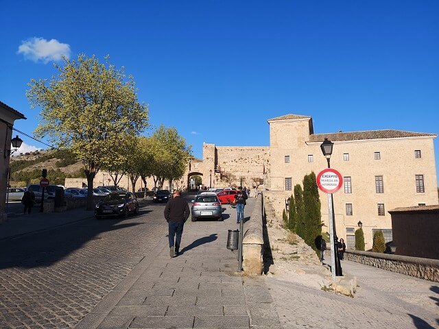 Ruinas del castillo Cuenca
