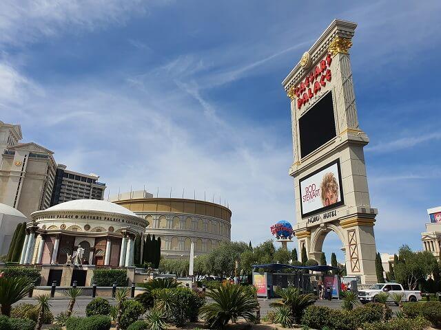 Hotel famosos en Las Vegas: Caesars Palace