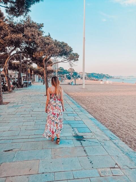 Paseo Maritimo Platja d'Aro