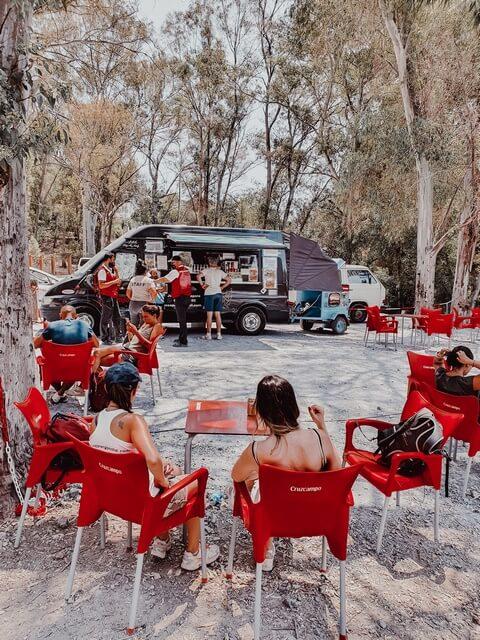 Food Truck final Caminito del Rey