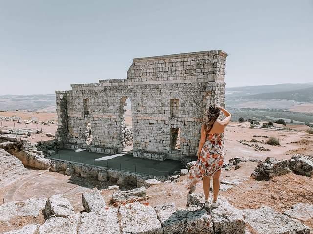 Ruinas Acinipo Ronda cerca de Setenil de las Bodegas