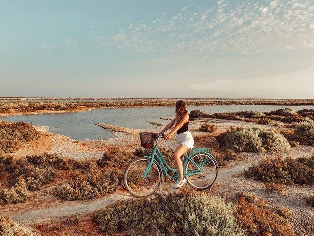 Paraje Natural Entinas-Sabinar en Roquetas de Mar
