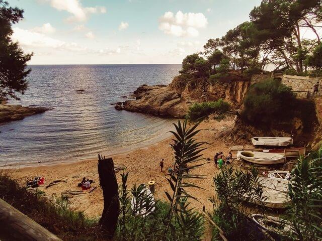 Camí de Ronda de Playa de Aro Cala Sa Cova