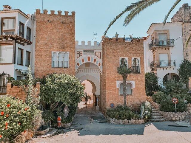 Puerta Mudéjar entrada El Roc de Sant Gaietà