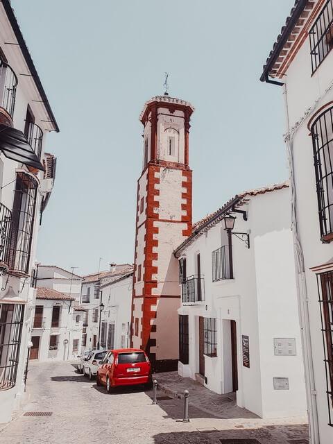 Iglesia de San Juan Letrán en calle doctor mateos gago Grazalema