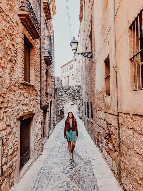 Calle dels Jueus Montblanc