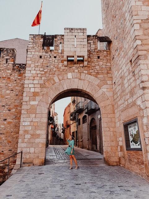 Portales muralla Montblanc Qué ver en Montblanc