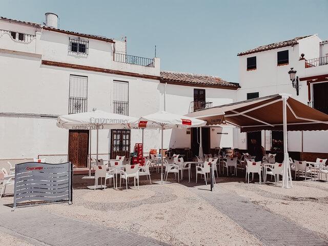 Qué ver en Olvera, Plaza del Ayuntamiento de Olvera