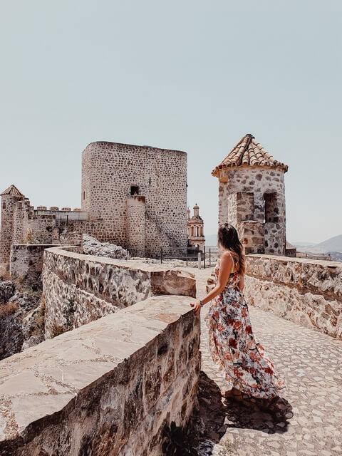 Qué ver en Olvera, el Castillo de árabe de Olvera