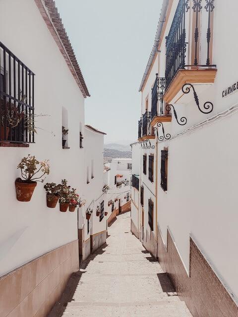 Qué ver en Olvera. Barrio de la Villa