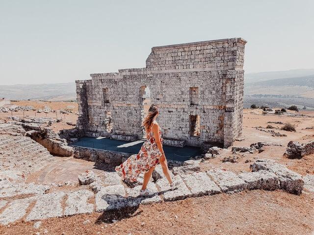 Ruinas Acinipo teatro