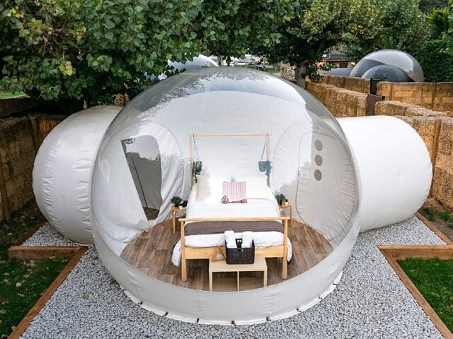 hotel burbuja Andorra