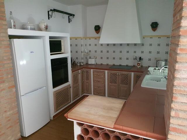 Apartamentos Turísticos Espinel cocina