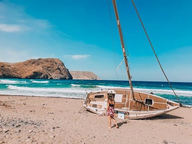 Playas en Las Negras Almeria
