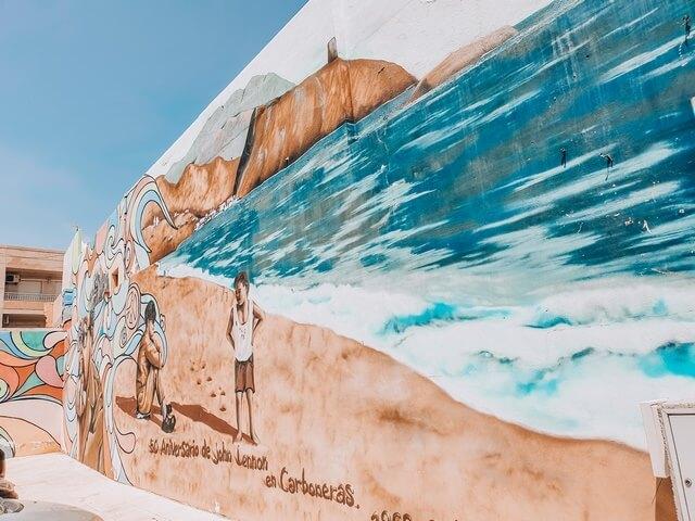 Street art Carboneras