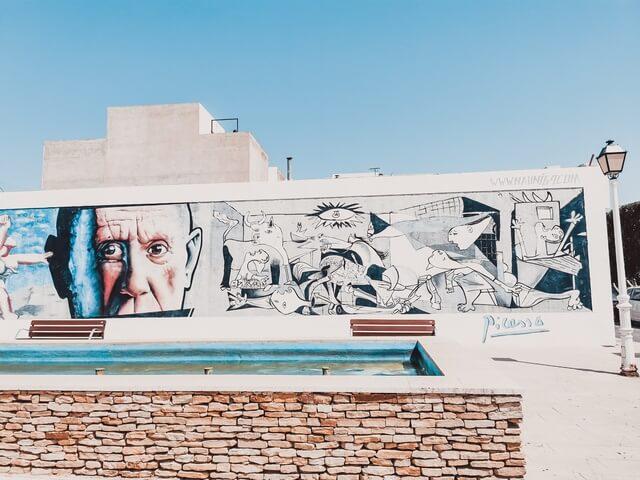 Murales de Picasso den Carboneras