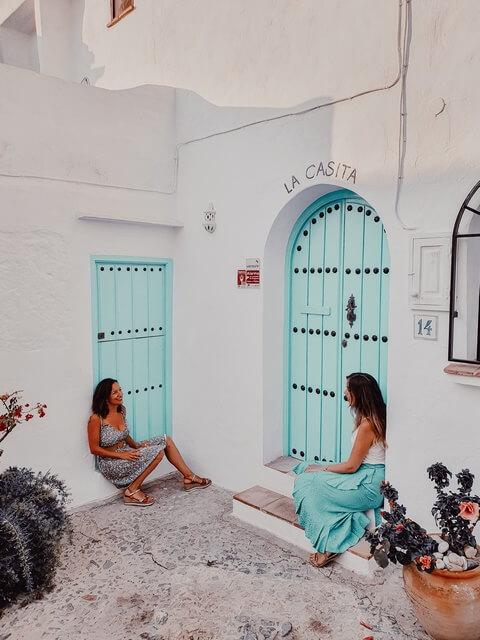 Puertas de colores Frigiliana