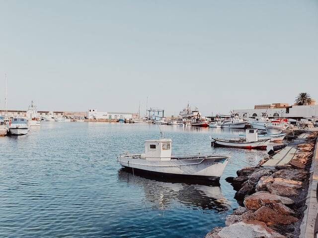 El puerto de Roquetas