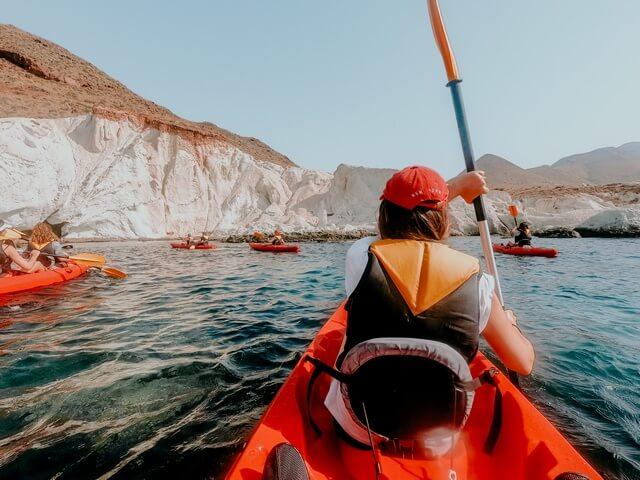 Ruta en Kayak en San José