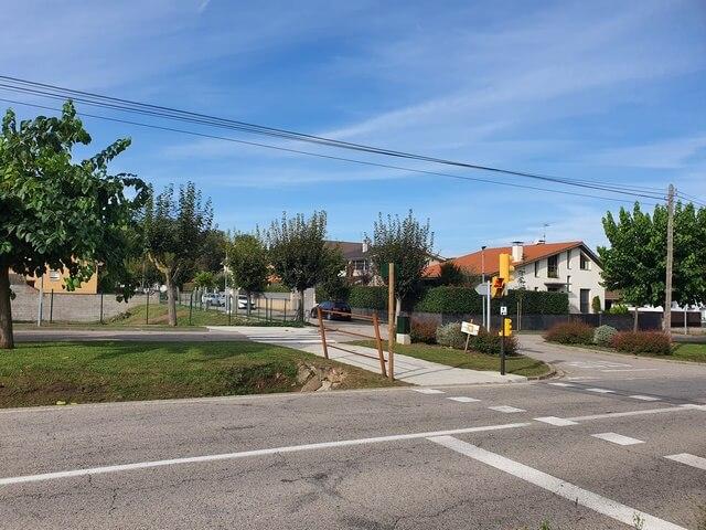 Urbanización cercana a Parking de Can Serra Fagdea Jorda aparcar gratis