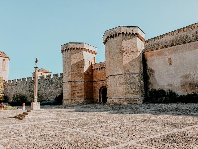 Puerta Real Monestir Poblet