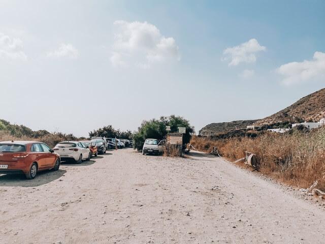 Parking Cala Plomo y Cala de Enmedio Almeria