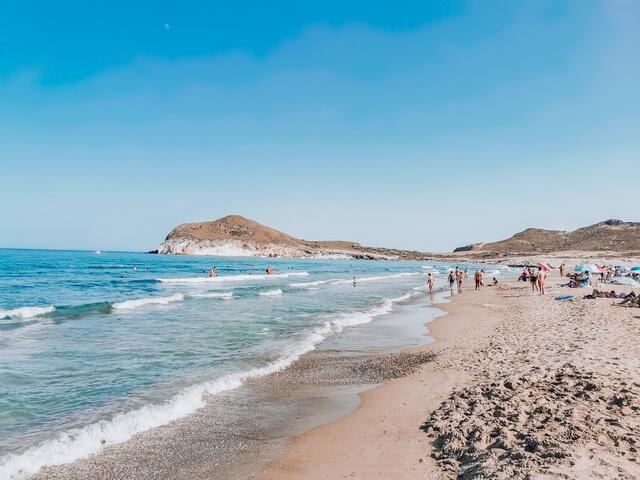 Playa Genoveses Almeria