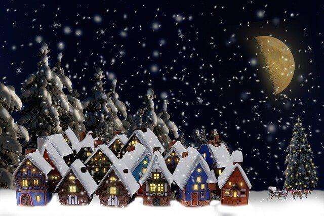 Pueblos de Navidad en España